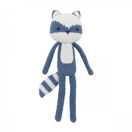 Peluche crochet Racoon