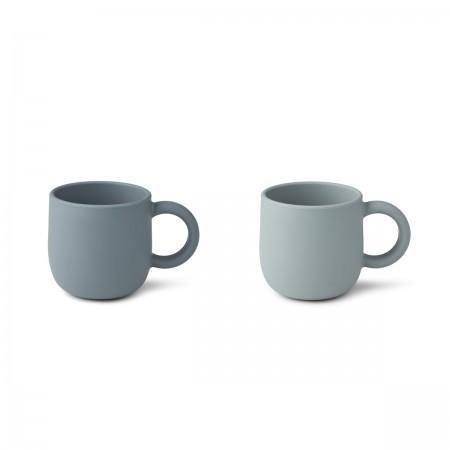 """Set de 2 tasses """"Merce"""" en..."""