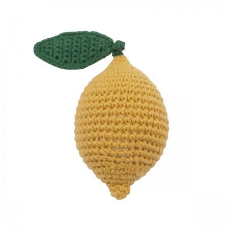 Hochet Citron en crochet