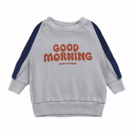"""Sweat bébé """"Good Morning""""..."""