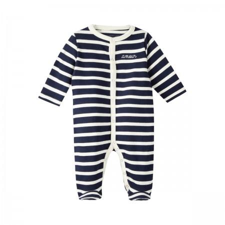 "Pyjama marinière ""Amour""..."