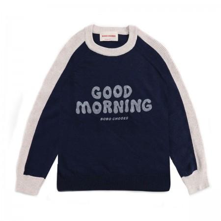 "Pull ""Good Morning"" Bleu..."