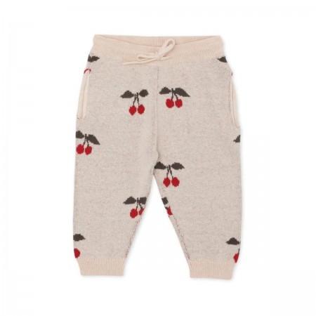 """Pantalon en mérinos """"Lapis""""..."""