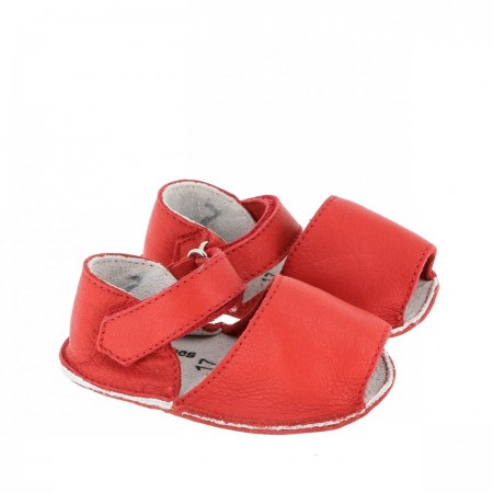 Chausson Minorquines Rouge