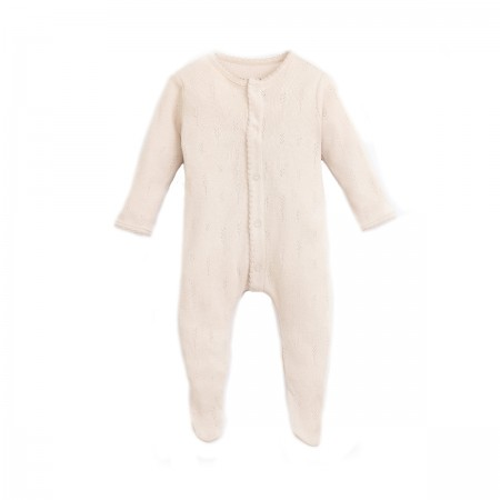 """Pyjama bébé """"Ajour"""" crème"""