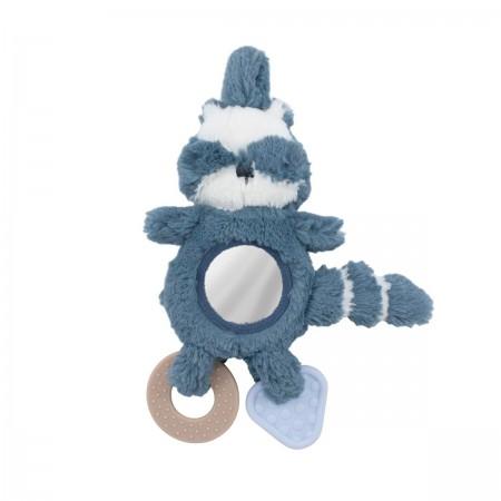 Jouet raton laveur bleu