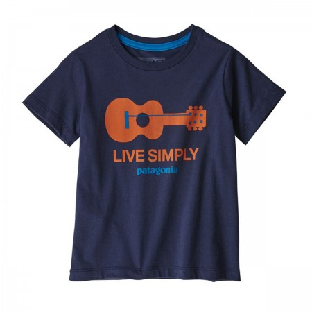 T-shirt Live Simply guitare...