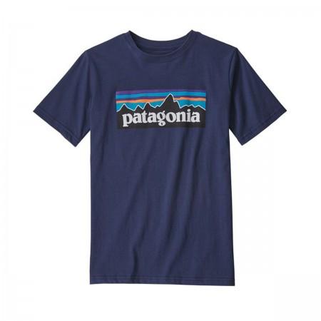 T-shirt Patagonia Bleu