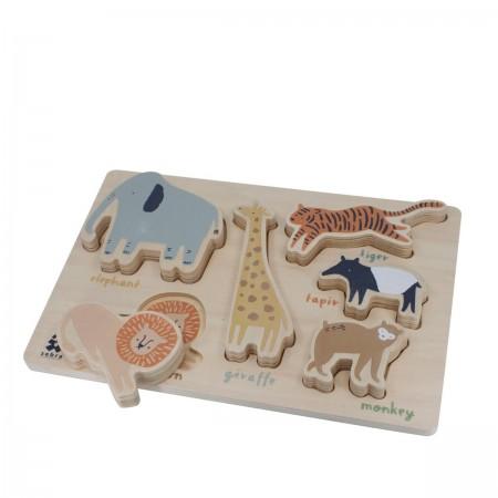 Puzzle Chunky Wildlife