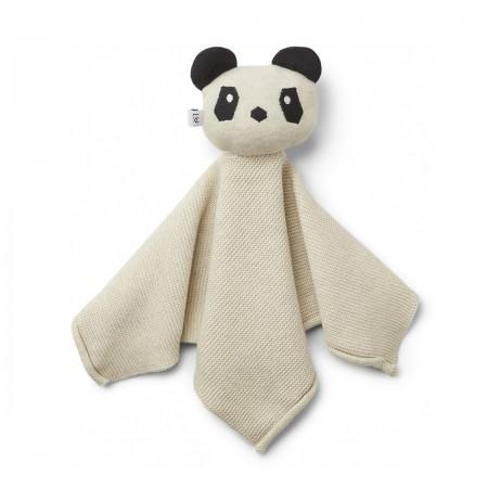 """Doudou Panda """"Milo"""" crème"""
