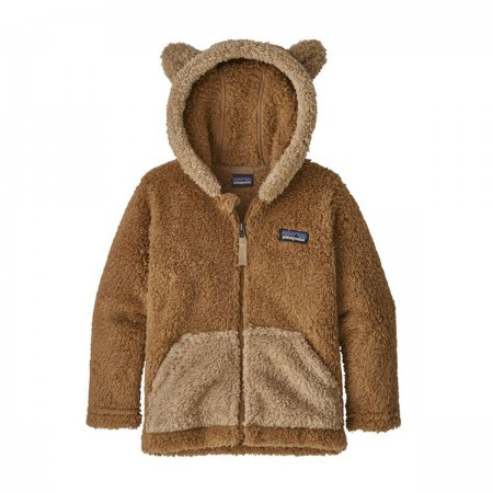 Veste polaire ours marron