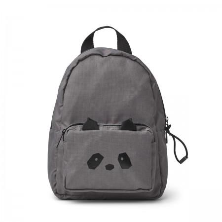 Mini Sac à dos Panda gris