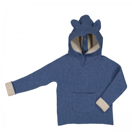 Pull en laine Joey bleu