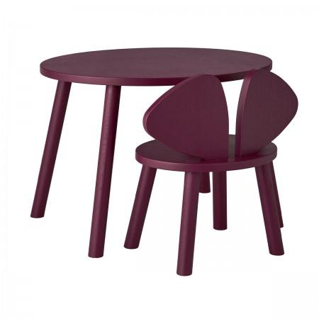 """Bureau et chaise """"Mousse""""..."""