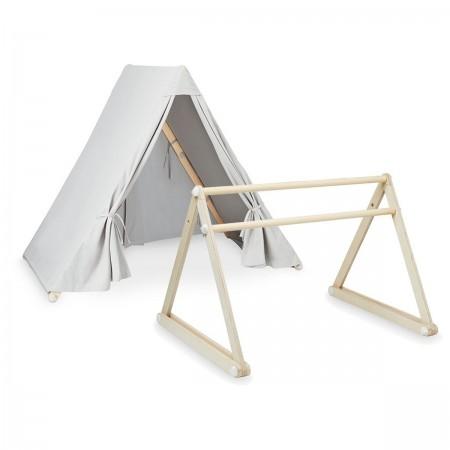 2 en 1 Tente et Arche gris
