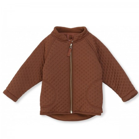 "Veste thermo ""Deux"" marron"