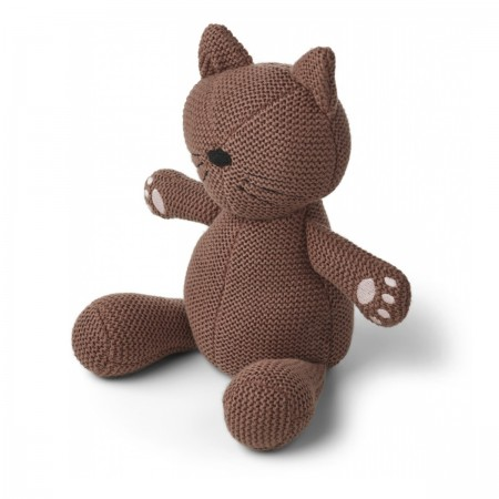 "Peluche Chat ""Missy"" Dark rose"