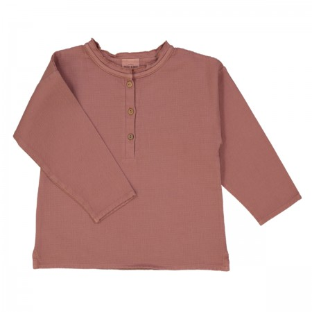 "Blouse ""Olympe"" terracotta..."