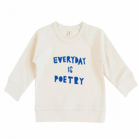 "Sweat ""Everyday is poetry""..."
