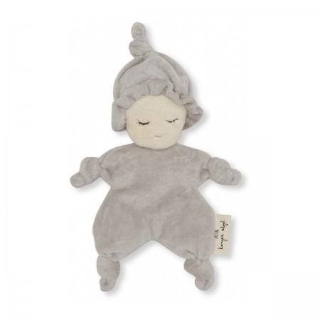 """Mini poupée """"Miffi"""" grise"""