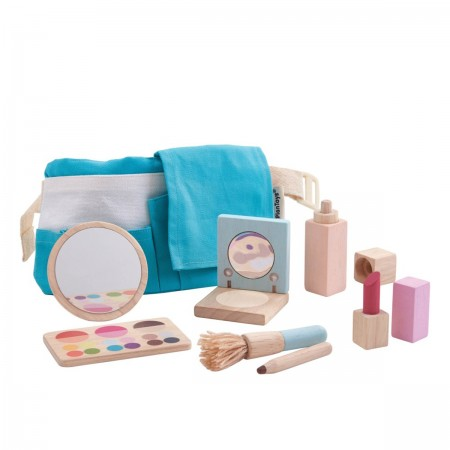 Set de maquillage en bois