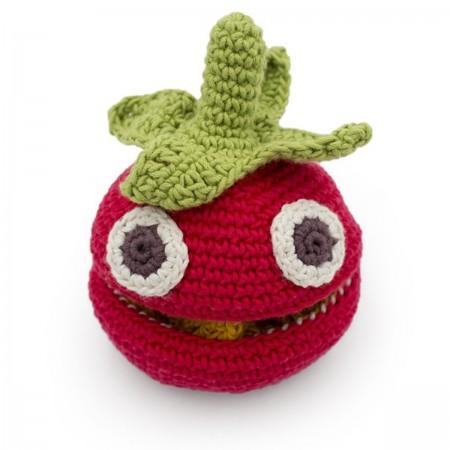 Jouet en crochet Tomate