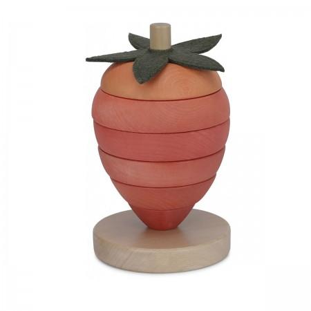 Jouet empilable fraise