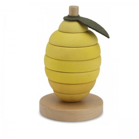Jouet empilable citron