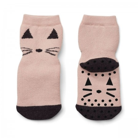 """Chaussettes """"Nellie"""" rose"""