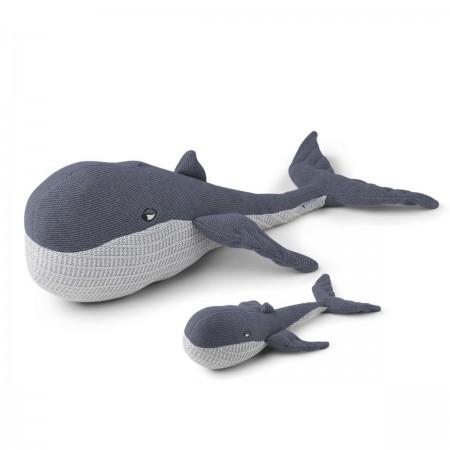 Peluche baleine et son bébé