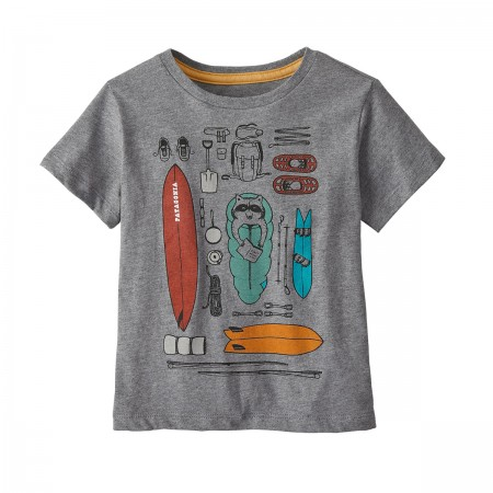 "T-shirt ""Bandido kit"" gris"