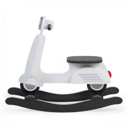 Scooter à bascule blanc
