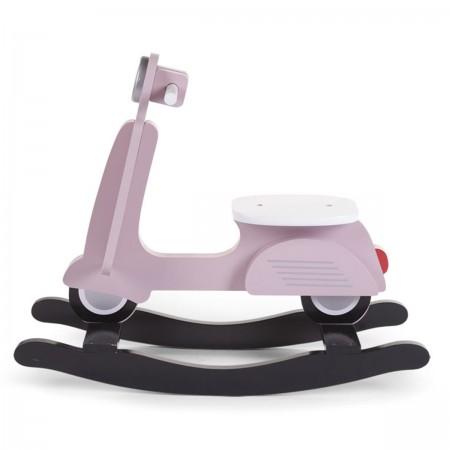 Scooter à bascule rose et noir