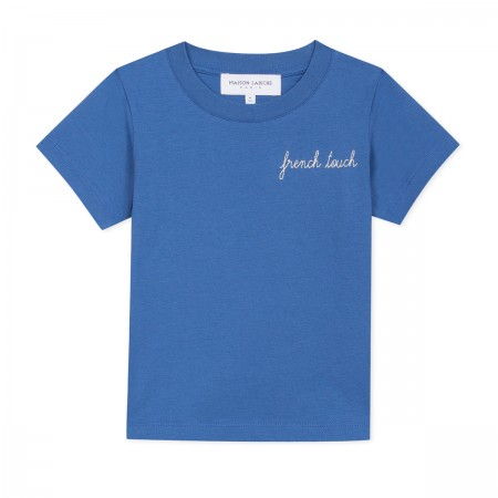 "T-shirt ""French Touch"" bleu"