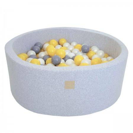 Piscine à Balles grise