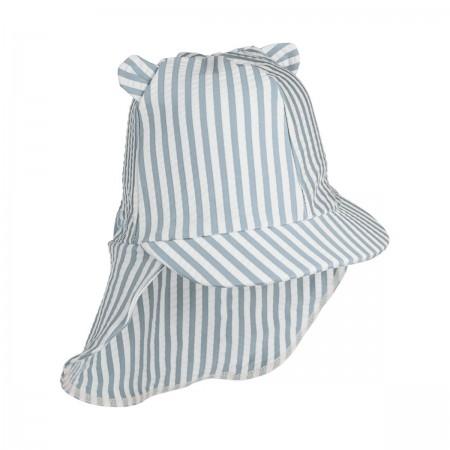 Chapeau anti UV bleu...