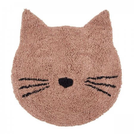 Tapis Chat rose