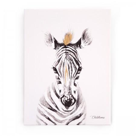 """Tableau peinture """"Zebre"""""""