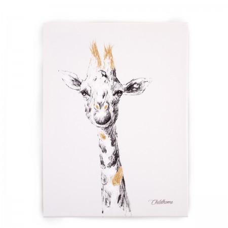 "Tableau peinture ""Girafe"""