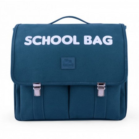 "Cartable ""School Bag"" vert"