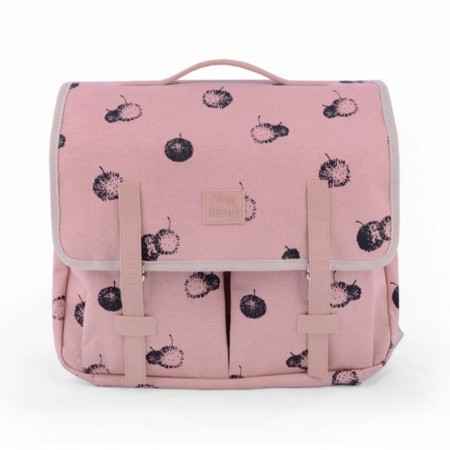 "Cartable Primaire ""Bog"" rose"