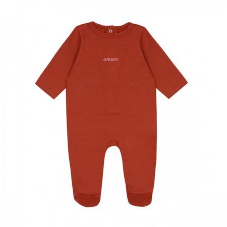 "Pyjama ""Amour"" rouge"