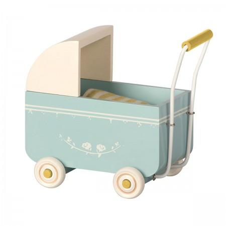 Landeau bleu pour bébé souris