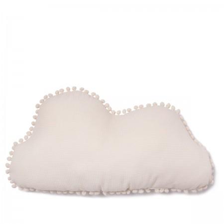 Coussin nuage crème