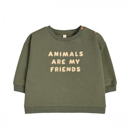 "Sweat ""Animals are my..."
