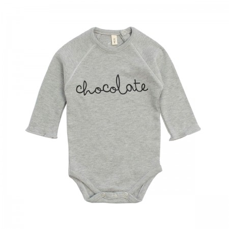 "Body ""Chocolate"" gris chiné"