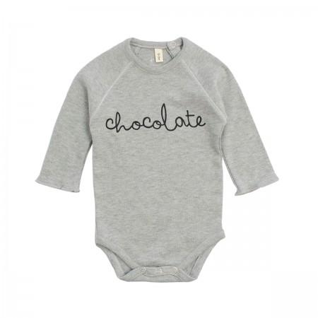 "Body ""Chocolate"" gris chiné"