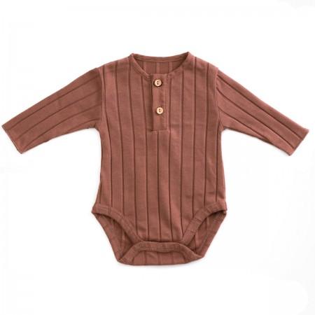 Body coton bio Terracotta