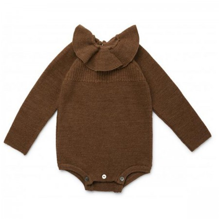 "Body merino ""Sinna"" marron"