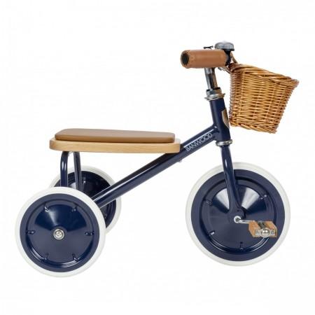 Tricycle vintage bleu marine